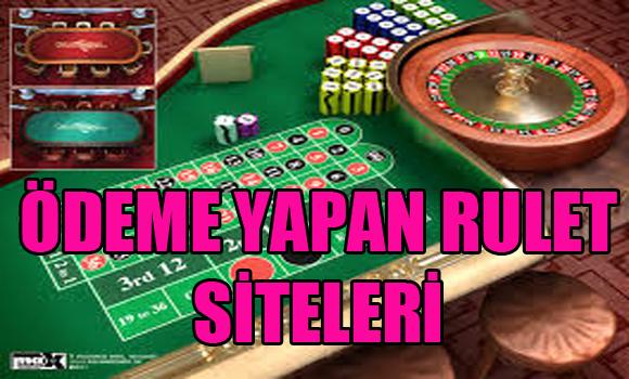 ödeme yapan rulet siteleri, Hangi rulet siteleri ödeme yapar, Ödeme yapan yabancı rulet siteleri
